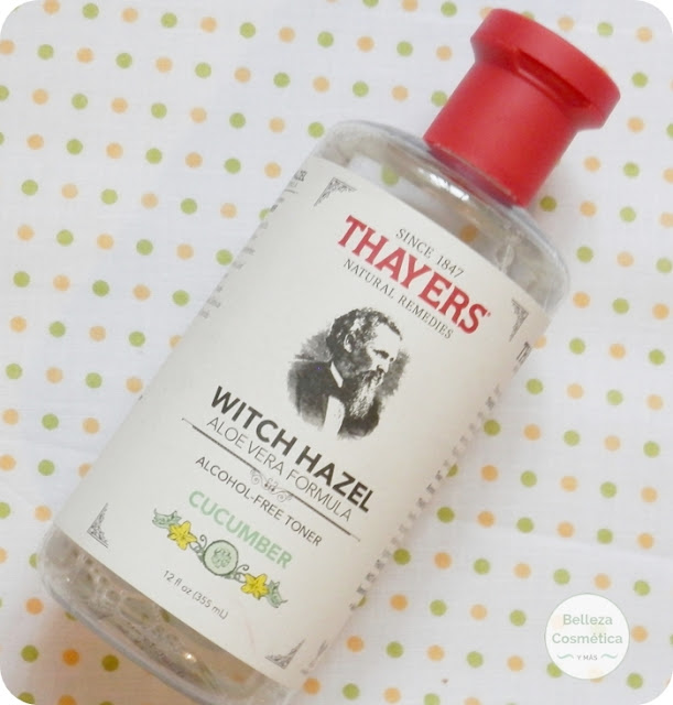 Thayers Witch Hazel Aloe Vera y Pepino