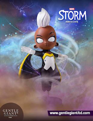 X-Men Storm Animated Marvel Mini Statue by Skottie Young & Gentle Giant