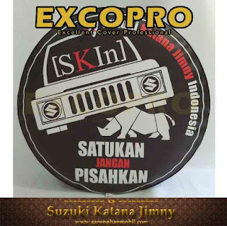 Cover Ban Suzuki Jimny SKIN