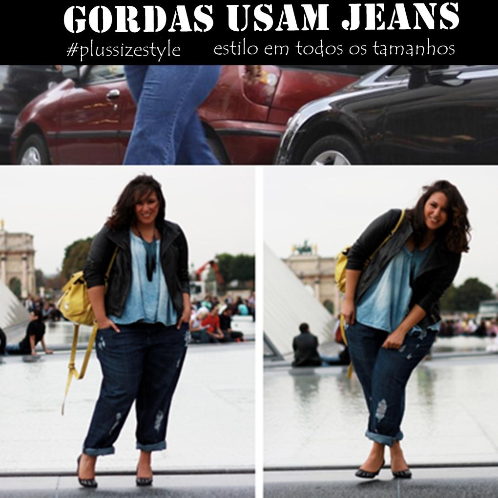 1c7980727 Jeans para Gordas de todos os Tamanhos - Inspiração Plus Size - Doce ...