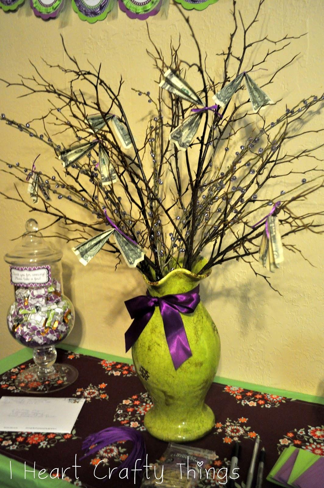 Purple Green Bridal Shower