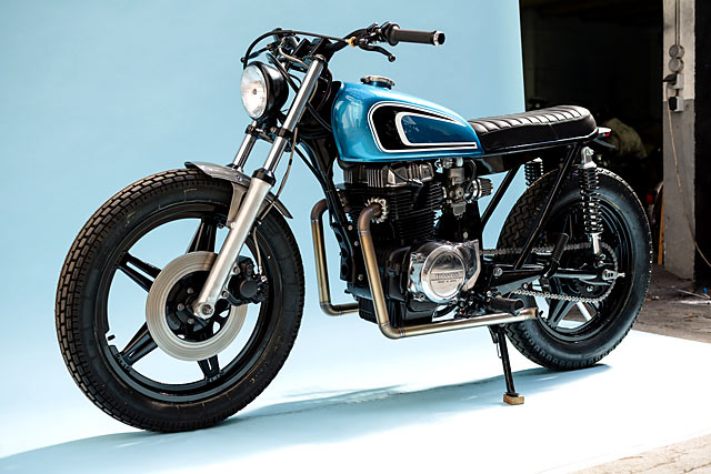 Honda CB400T 1978 By Bad Winners Hell Kustom