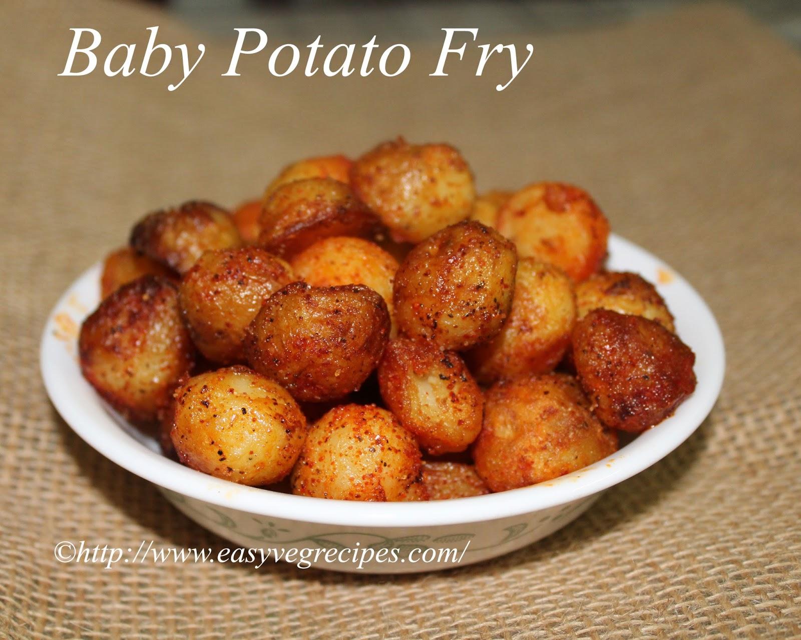Baby Potato Fry