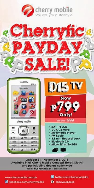 Cherry Mobile D15 TV Sale