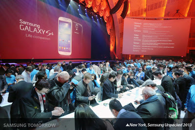 Samsung Unpacked 2013 Event