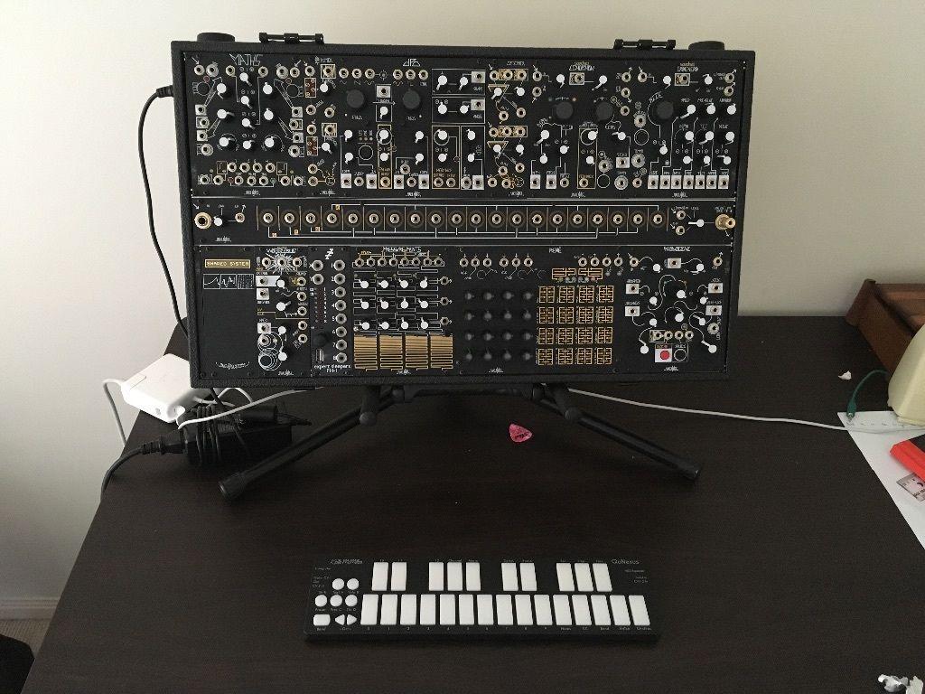 matrixsynth make noise shared system eurorack modular synthesizer. Black Bedroom Furniture Sets. Home Design Ideas