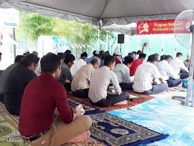 Majlis Bacaan Doa Selamat dan Solat Hajat Sempena Pembinaan Rumah Ronald McDonalds di HUSM