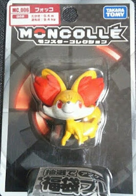 Fennekin figure Takara Tomy Monster Collection MONCOLLE MC series