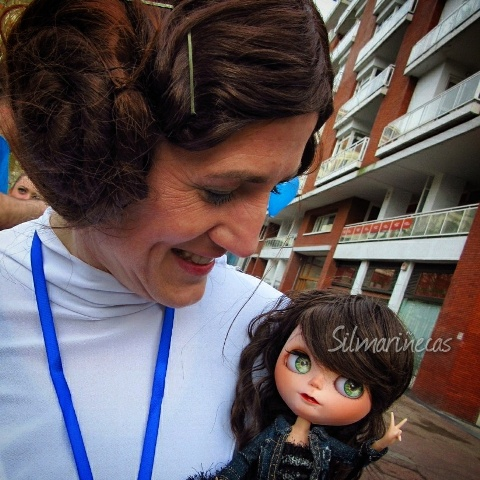 Princesa Leia y Caty Blythe