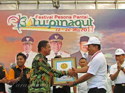 Pemecahan Rekor Festival Batu Pinagut 2017