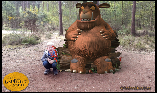The wonderful Gruffalo spotter experience in the New Forest