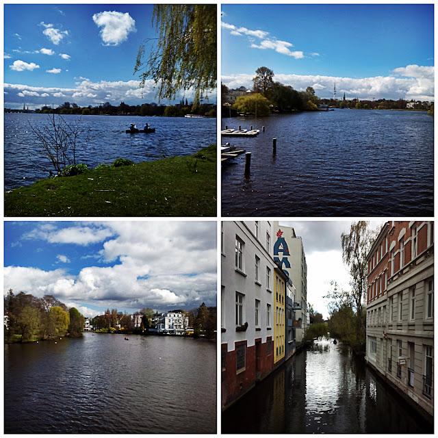 Außenalster , Hamburg, Hamburgo, Deutschland, Alemania, Travelling