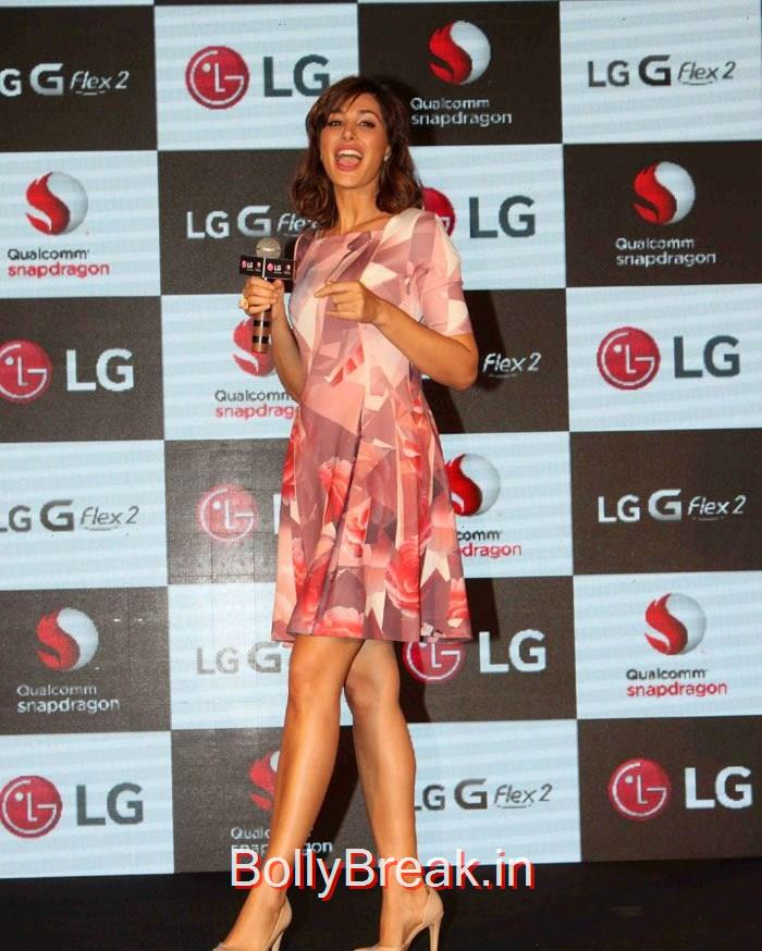 Anil Kapoor & Nargis Fakhri Launched LG G Flex, Hot HD Pics of Nargis Fakhri From Launch Of  LG G Flex 2 photos