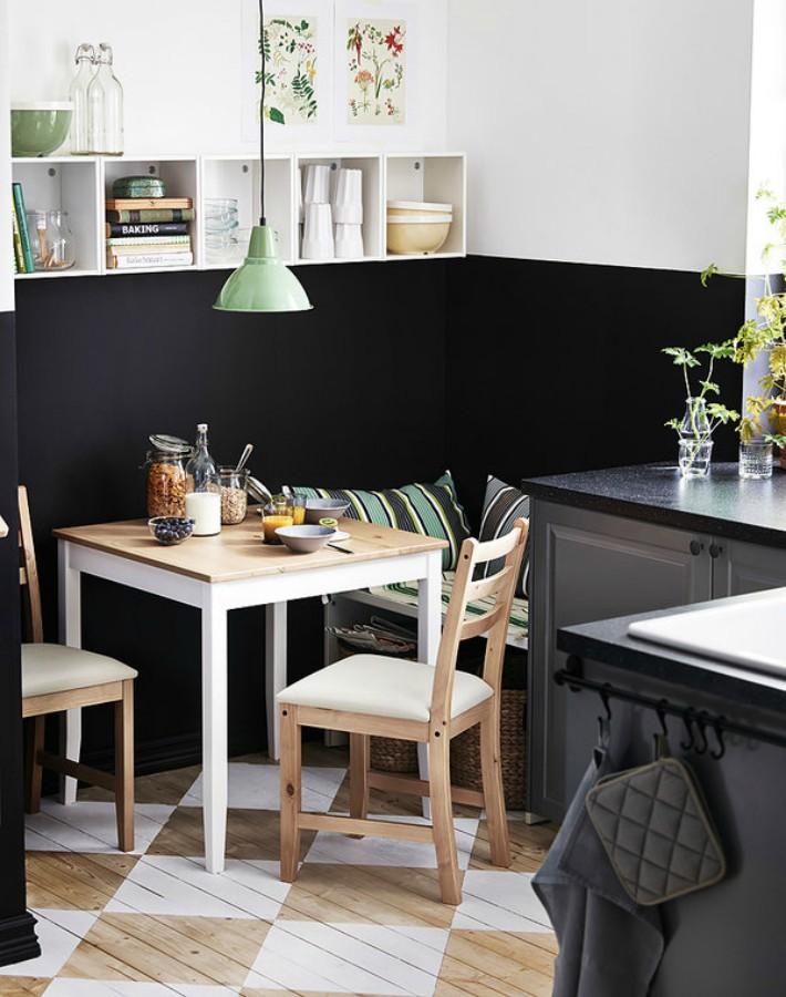 9 ideas para crear un oficce en cocinas pequeñas
