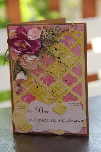 karteczka urodzinowa Beaty