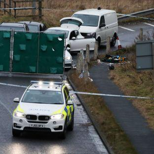 BREAKING Man, 30, arrested in police operation on M62 is charged with firearms offences