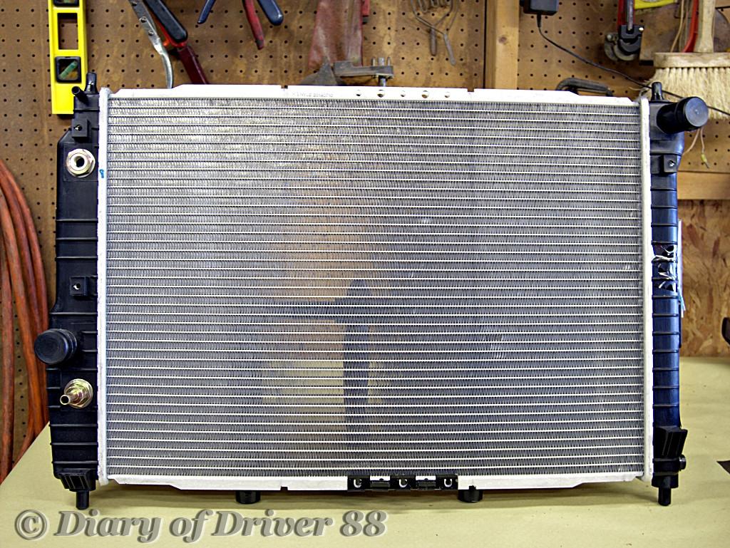 2008 chevy aveo ls radiator