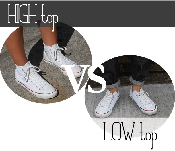 4047939c65be more than rain boots  Converse  high tops vs low tops