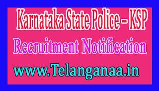 Karnataka State Police Recruitment Notification 2017