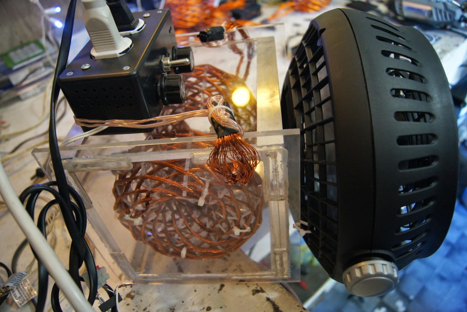 Winding the POE Vortex Coil Mini