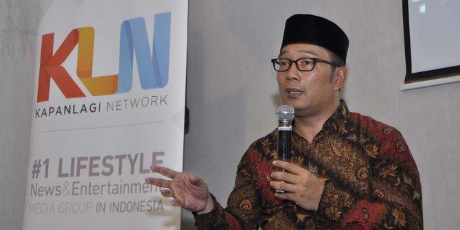 Sah, Ridwan Kamil Batal Maju ke Pilgub DKI 2017