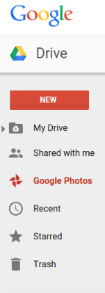 Google Drive Now with Google Photos