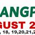 #WalangPasok: August 17, 18, 19, 20, 21,22, 27
