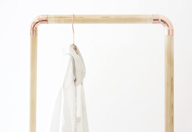 439612ae9 7 percheros DIY muy fáciles de hacer - El Blog de Cositas Decorativas