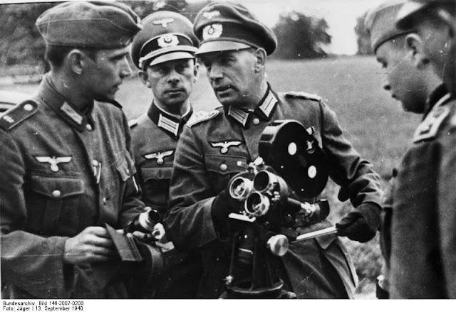 13 September 1940 worldwartwo.filminspector.com Wehrmacht propaganda filmmakers