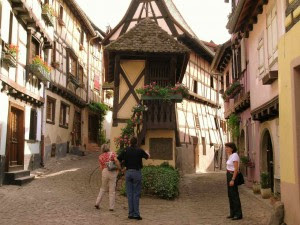 A village in Alsace France