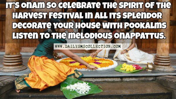 Happy Onam Quotes Images