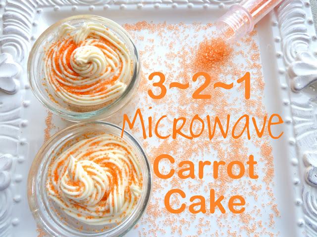 Cake In A Jar Recipe Microwave: Cookin' Cowgirl: 3-2-1 Microwave Carrot Cake
