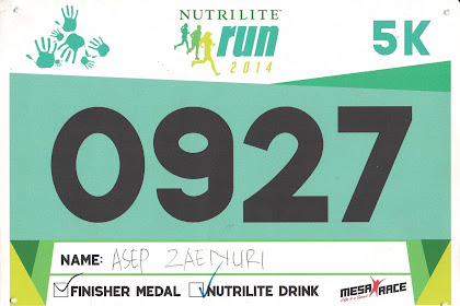 BiB Number My Running Road & Trail In Indonesian