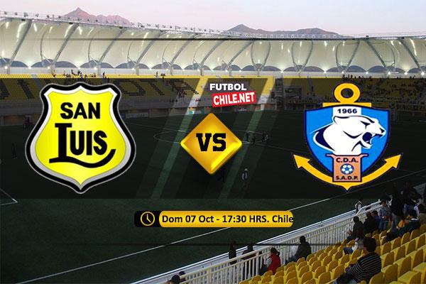 Mira San Luis vs Antofagasta en vivo y online por la Primera División