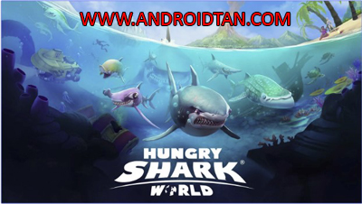 Hungry Shark World Mod Apk + Data v2.4.2 Unlimited Gems Sharks Unlocked Terbaru