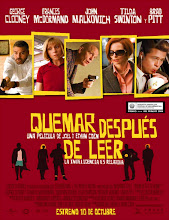Burn After Reading (Quémese después de leerse) (2008) [Latino]