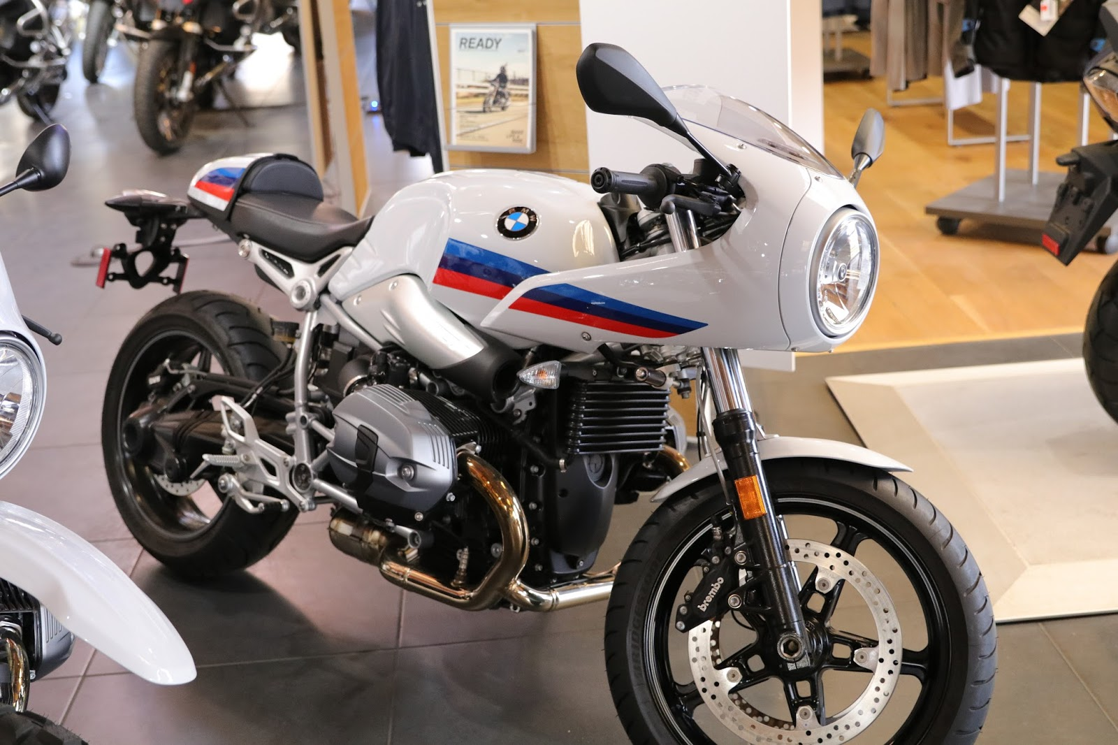 OldMotoDude: BMW RnineT Cafe Racer for sale at Foothills BMW