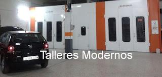 talleres modernos de chapa y pintura mostoles, talleres regordoño mostoles