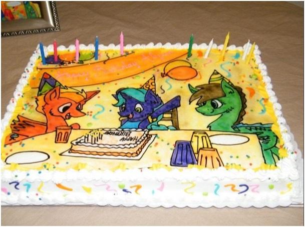 el yapımı doğum günü pasta modelleri