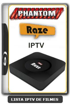 Phantom Raze IPTV Nova Atualização Canais aplicativo NaTV ON - 01-03-2020