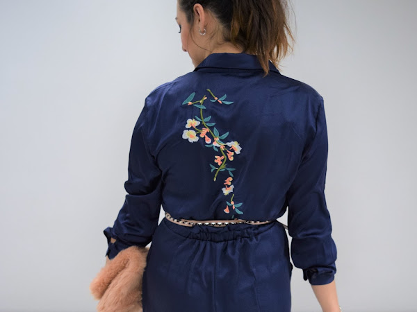 What Cat Wore | Blossom Boiler Suit