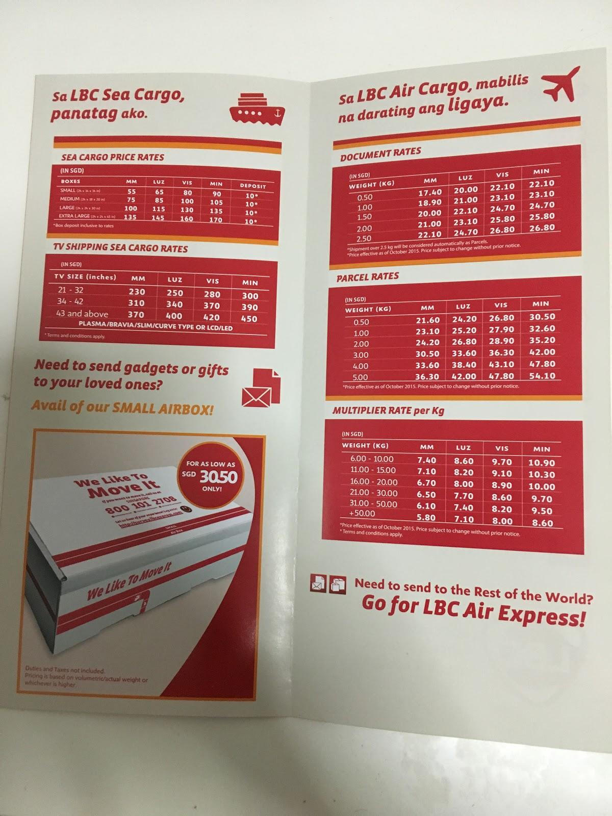 Atlas cargo prices