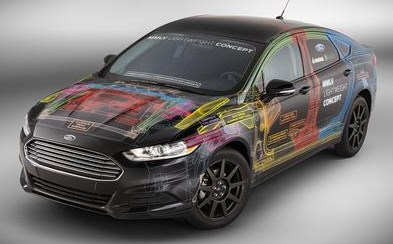 Ford Fusion Lightweight Concept Car
