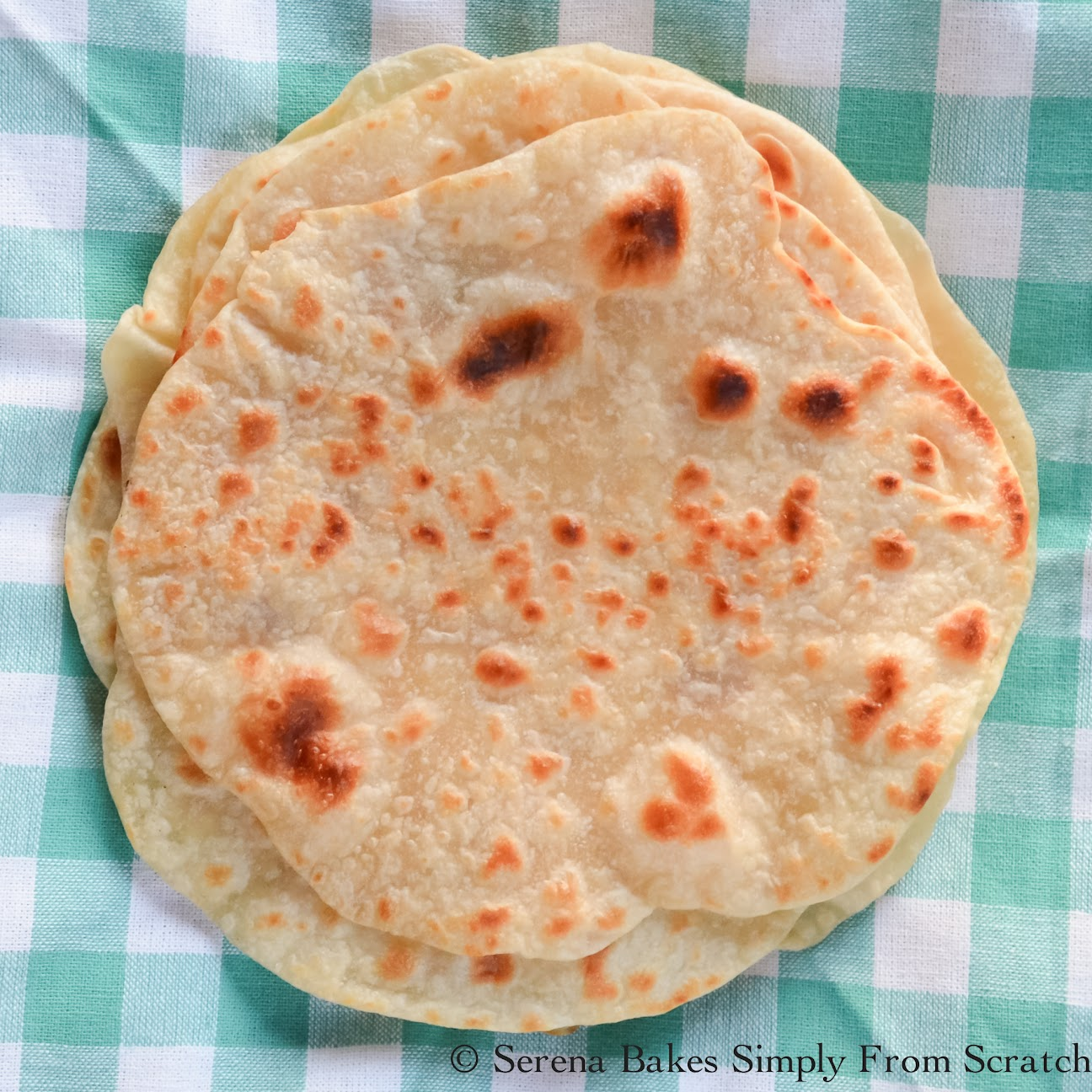 Soft Homemade Soft Flour Tortillas