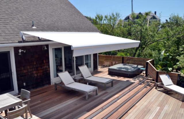 canopy gulung rumah idaman