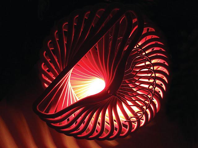 วิธีประดิษฐ์โคมไฟจากไม้แขวนเสื้อ