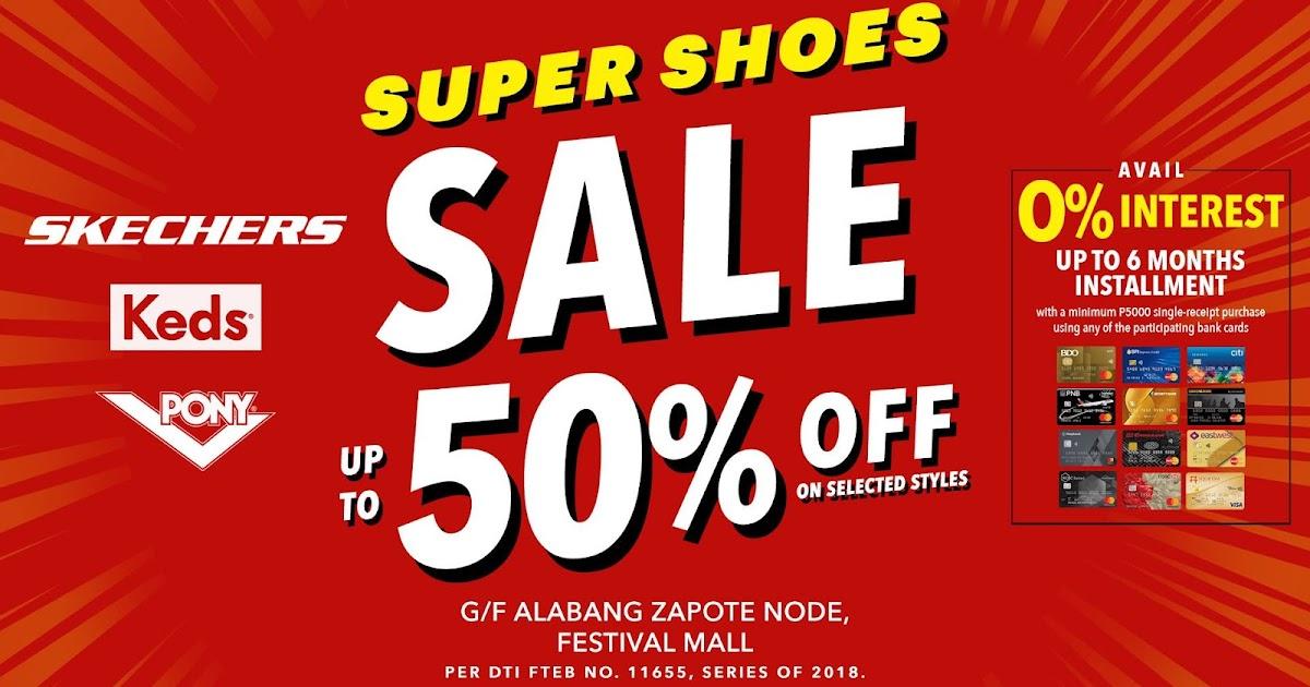 manila shopper super shoes sale event at festival mall july 2018