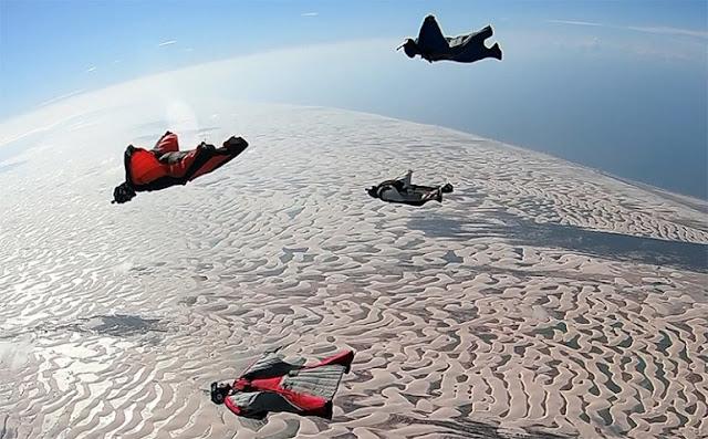 Ubatuba sedia, de forma inédita, eventos de Wingsuit