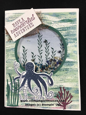 Stampin' Up! Tranquil Textures Under the Sea Framelits Sea of Textures