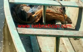 Hallan pescadores un cadáver en Gutiérrez Zamora Veracruz